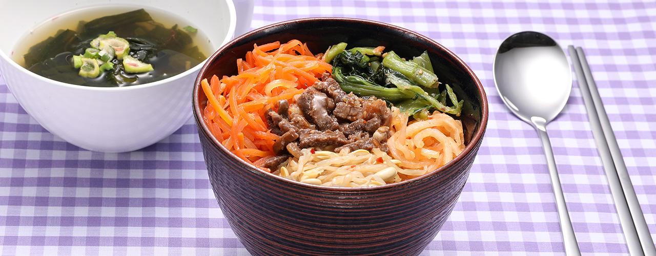 紀ノ国屋 1/3日分の野菜が摂れるビビンバ丼