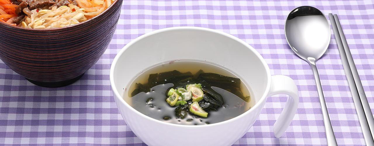 紀ノ国屋 天然わかめと海藻のスープ